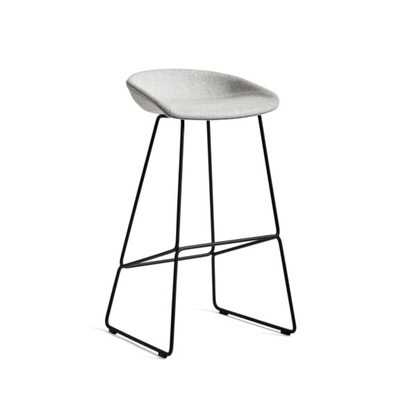 Opprinnelig HAY Stol About A Stool, Barstol AAS 39, Sittehøyde: 75 cm AQ-49
