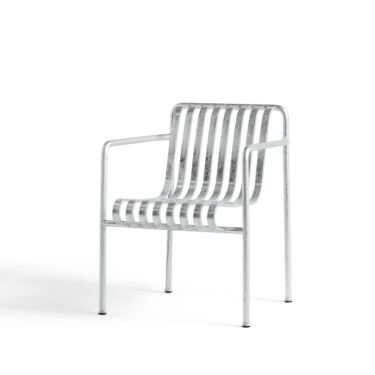 HAY Stol, Palissade Dining Armchair Hot Galvanised
