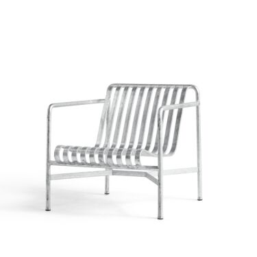 HAY Stol, Palissade Lounge Chair Low Hot Galvanised