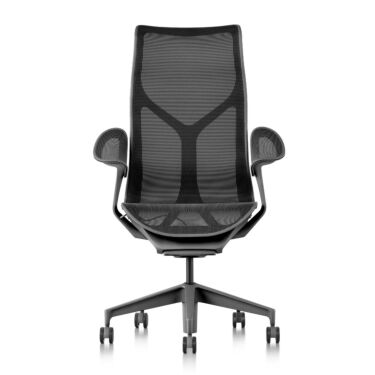 Kontorstol Herman Miller Cosm High Back, Leaf Arms