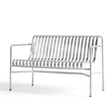 HAY Benk, Palissade Dining Bench Hot Galvanised