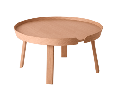 Sofabord Muuto Around, Large, Rundt