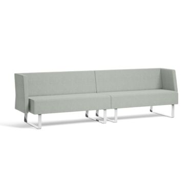 Sofa Mr Box, Lav Modell, Modul 2+2-seter