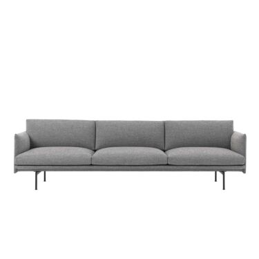 Sofa Muuto Outline, 3.5-seter, Tekstil: Hallingdal 166