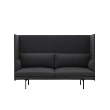 Sofa Muuto Outline Highback, 2-seter